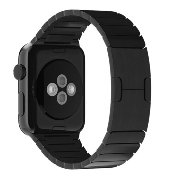 Apple MJ5K2ZM/A Band Nero Acciaio inossidabile accessorio per smartwatch 0888462180740 MJ5K2ZM/A 08_MJ5K2ZM/A