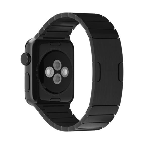 Apple MJ5H2ZM/A Band Nero Acciaio inossidabile accessorio per smartwatch 0888462180702 MJ5H2ZM/A 08_MJ5H2ZM/A