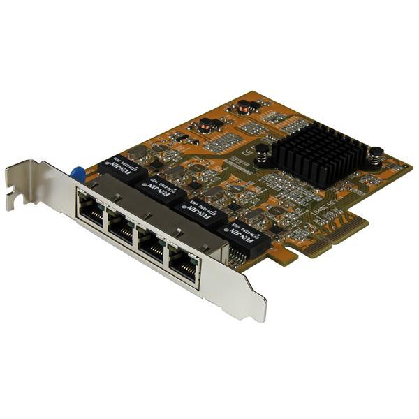 Startech ST1000SPEX43 4-Port PCIexpress Netzwerkadapter