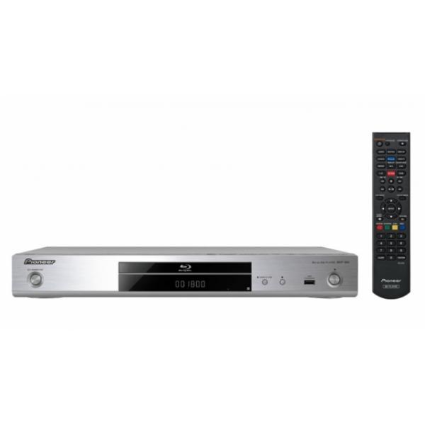 Pioneer BDP-180 Lettore Blu-Ray 5.1canali Compatibilità 3D Argento 4988028301032 BDP-180-S TP2_BDP-180-S
