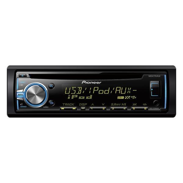 Pioneer DEH-X3800UI Bluetooth Nero autoradio 4988028309465 DEH-X3800UI TP2_DEH-X3800UI