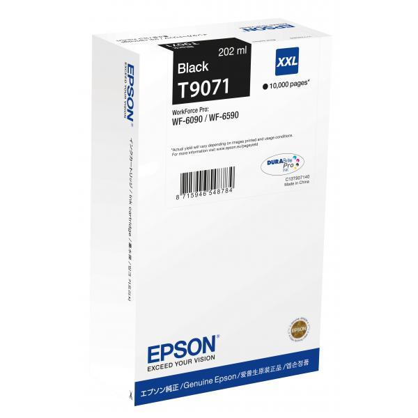 Epson T9071 202ml 10000pagine Nero cartuccia d'inchiostro 8715946548784 C13T907140 10_235K944