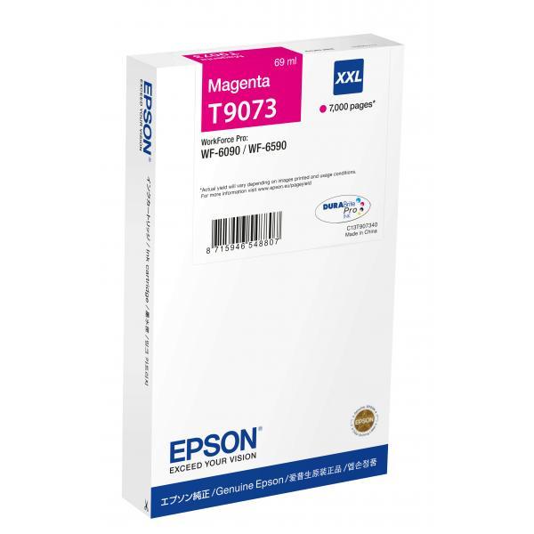 Epson T9073 69ml 7000pagine Magenta cartuccia d'inchiostro 8715946548807 C13T907340 10_235K945