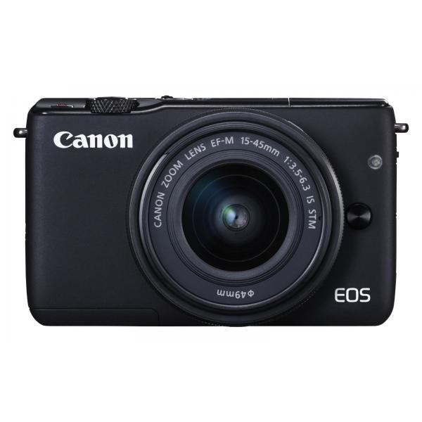 Canon EOS M10 + EF-M 15-45mm f/3.5-6.3 IS STM MILC 18MP CMOS 5184 x 3456Pixel Nero 4549292052237 0584C012 08_0584C012