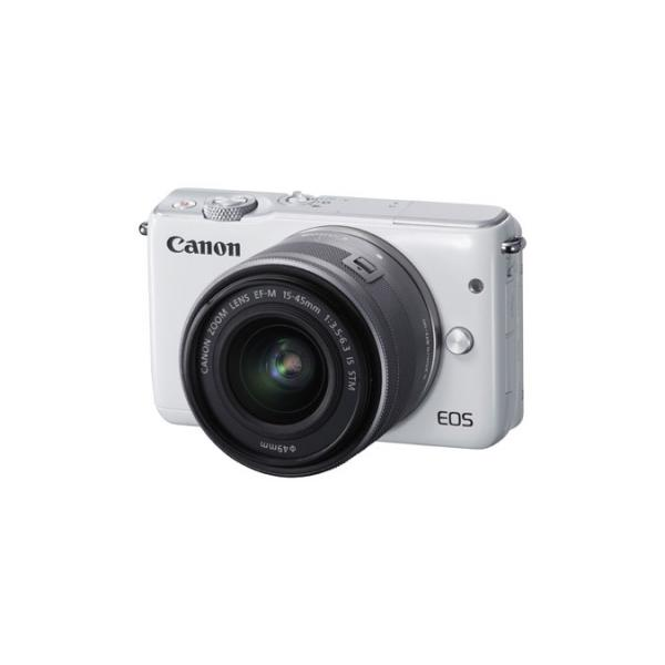 Canon EOS M10 + EF-M 15-45mm f/3.5-6.3 IS STM MILC 18MP CMOS 5184 x 3456Pixel Bianco 4549292053180 0922C012 08_0922C012