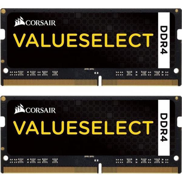 16GB (2x8GB) Corsair Value Select DDR4-2133 CL15 SO-DIMM RAM Kit