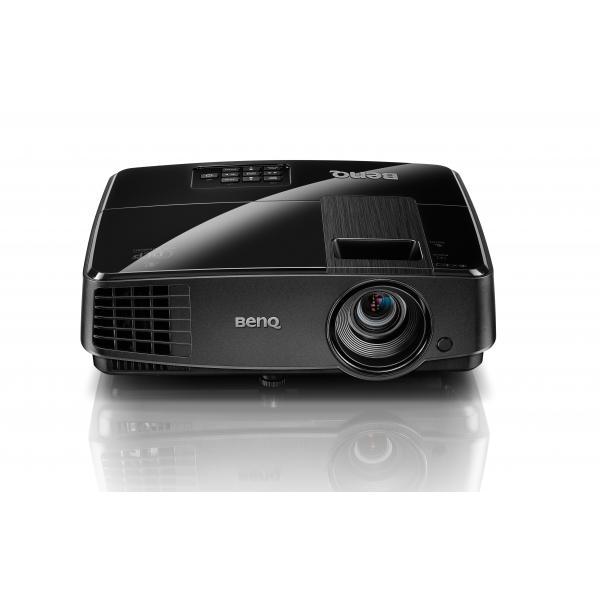 Benq MS506 Proiettore desktop 3200ANSI lumen DLP SVGA (800x600) Compatibilità 3D Nero videoproiettore 4718755058752 9H.JA477.14E 10_M352839
