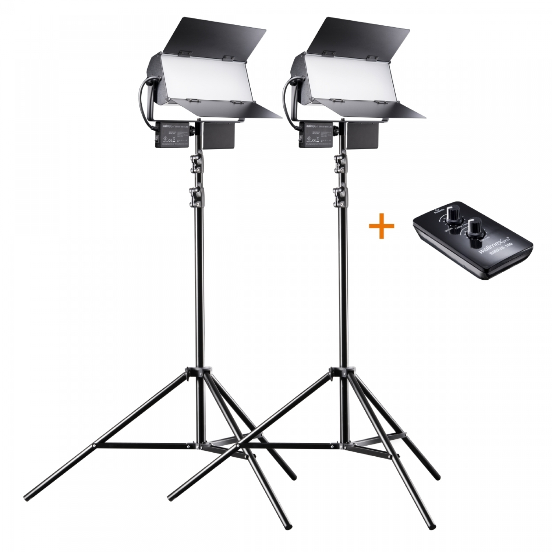 Walimex 21043 illuminazione continua per studio fotografico 65 W