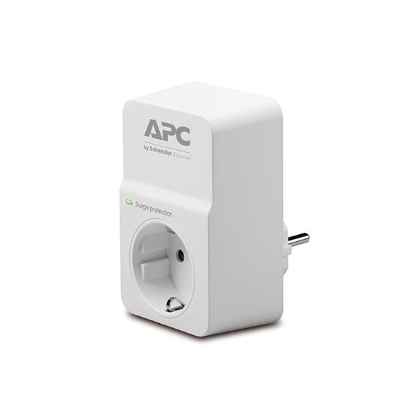APC ESSENTIAL SURGEARREST 1AC outlet(s) 230V Bianco protezione da sovraccarico 0731304313168 PM1W-IT 10_270B539