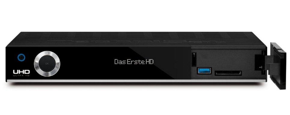 TechniSat DIGIT ISIO STC+ Satellite Nero set-top box TV 4019588047570 0000/4757 04_90708941