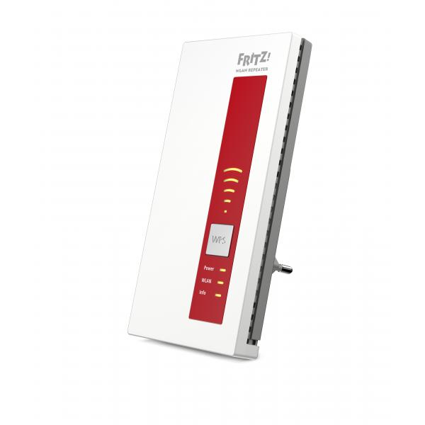 AVM FRITZ!WLAN Repeater 1160 800Mbit/s Rosso, Bianco 4023125027567 20002756 10_7651180