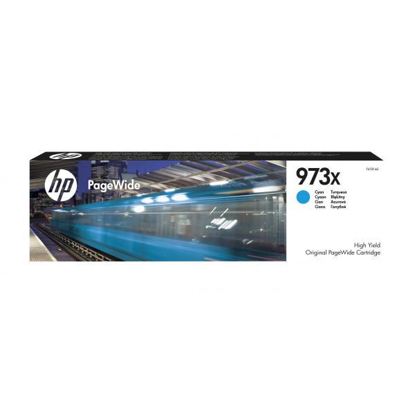 HP Cartuccia ciano ad alta capacità originale 973X PageWide 0889296544661 F6T81AE 10_2M3W825