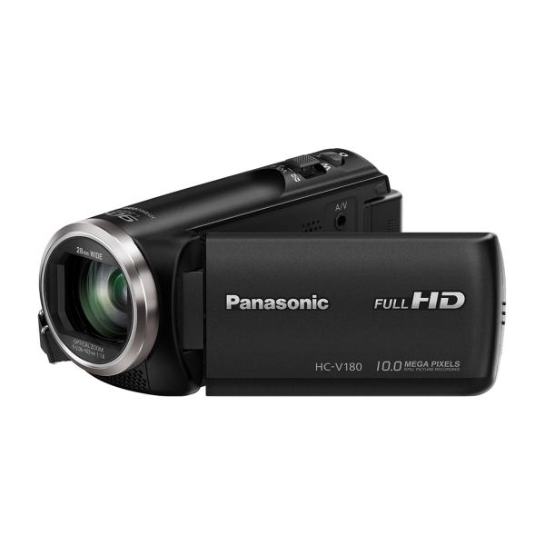 Panasonic HC-V180EG-K videocamera 2,51 MP MOS BSI Videocamera palmare Nero Full HD