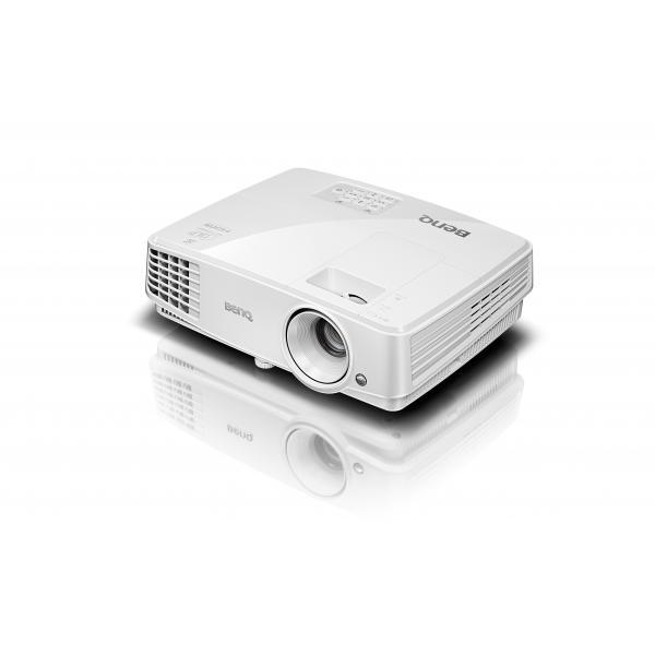 Benq TW529 projector DLP WXGA 1280x800 13000: Proiettore portatile 3300ANSI lumen DLP WXGA (1280x800) Compatibilità 3D Bianco videoproiettore 4718755063916 9H.JFD77.14E 04_90637312