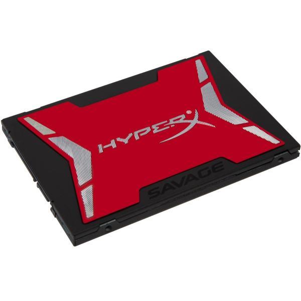 HyperX 480GB SAVAGE Serial ATA III 0740617239850 SHSS37A/480G 14_SHSS37A/480G