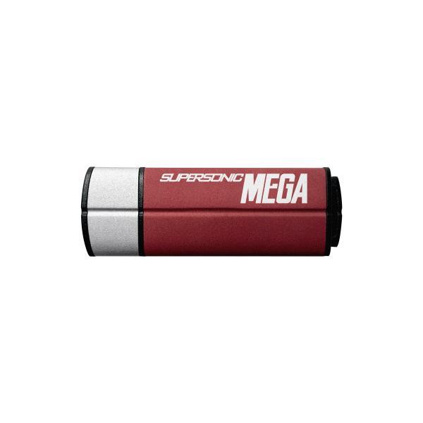 Patriot Memory Supersonic Mega USB 3.1 128GB 128GB USB 3.0 (3.1 Gen 1) Tipo-A Rosso, Argento unità flash USB 0814914021170 PEF128GSMGUSB 14_PEF128GSMGUSB