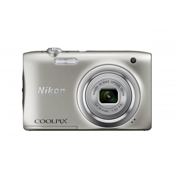 Nikon Coolpix A100 Silver - SPEDIZIONE 8/10 GIORNI