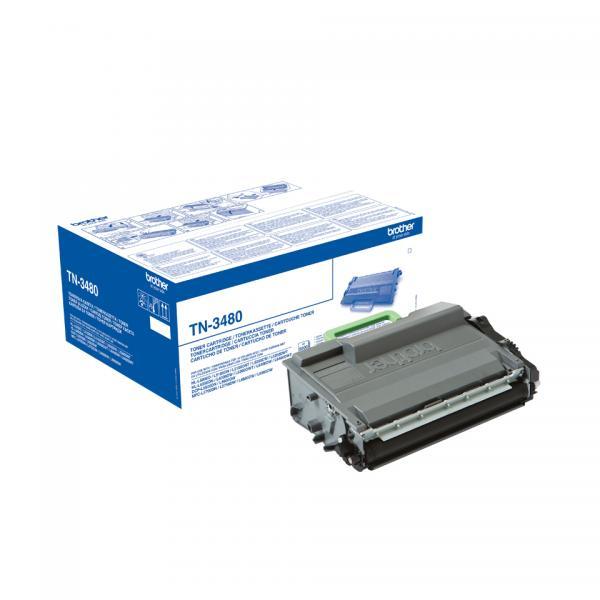 Brother TN-3480 Laser cartridge 8000pagine Nero cartuccia toner e laser 4977766755658 TN3480 COM_60532