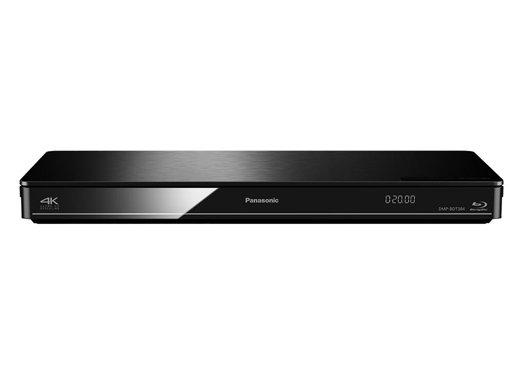Panasonic DMP-BDT384 Schwarz 3D Blu-ray Player WLAN 4K DLNA
