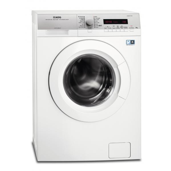 AEG L74486FL Libera installazione Caricamento frontale 8kg 1400Giri/min A+++-10% Bianco lavatrice  L74486FL TP2_L74486FL