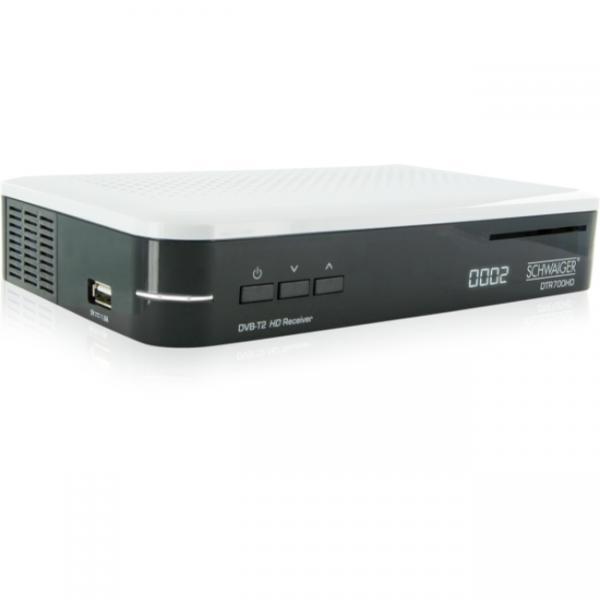 Schwaiger DTR700HD Nero, Bianco ricevitore AV 4004005423402 DTR700HD 04_90643040
