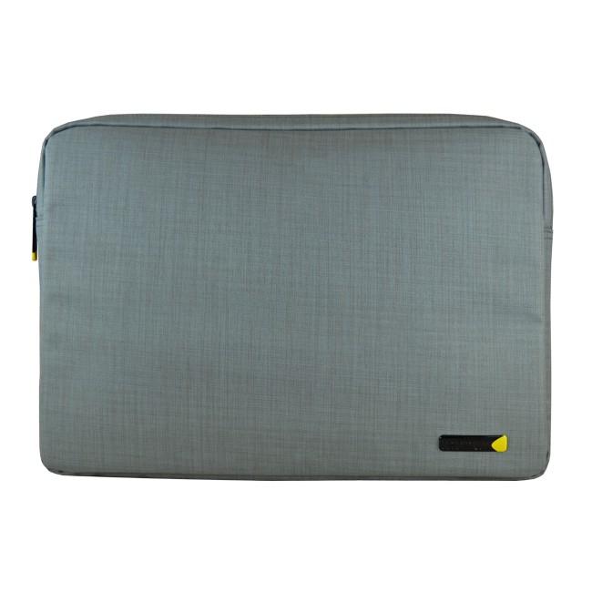 CUSTODIA PER NB TECH AIR EVO da 15.6'' TAEVS006 Protezione a schiuma, tasca con cerniera per accessori- GRIGIO Testurizzato