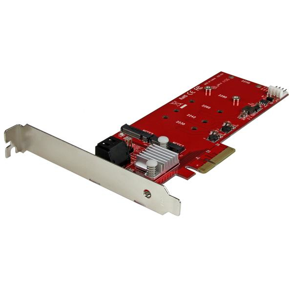 StarTech.com Scheda PCI Express Controller 2x M.2 NGFF SSD RAID con 2 Porte Sata III - PCIe 0065030863766 PEXM2SAT3422 10_V933674