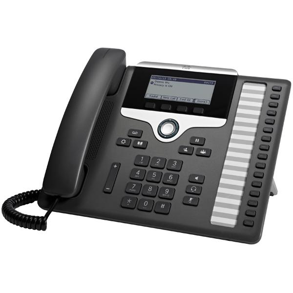 Cisco 7861 SIP-Telefon anthrazit
