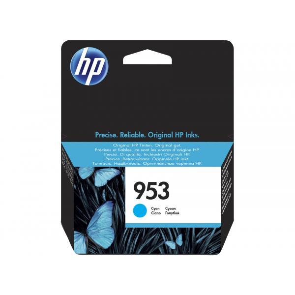 HP HP 953 Cyan Original Ink Cartridge cartuccia d'inchiostro Ciano 10 ml