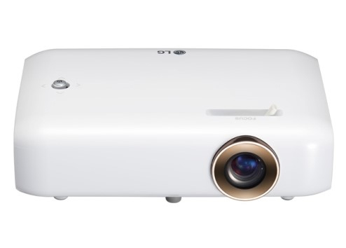 LG PH550G Proiettore desktop 550ANSI lumen DLP 720p (1280x720) Compatibilità 3D Bianco videoproiettore 8806087635218 PH550G 04_90644232