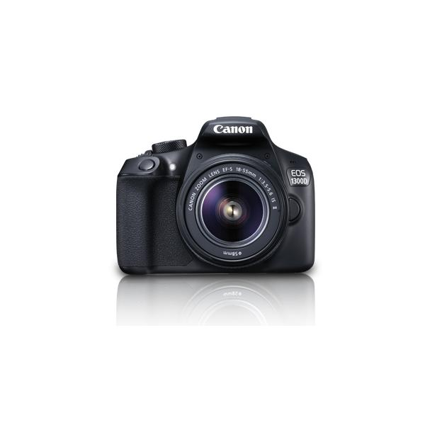 Canon EOS 1300D + EF-S 18-55 IS II Kit fotocamere SLR 18MP CMOS 5184 x 3456Pixel Nero 8714574637266 1160C026 10_2422A16