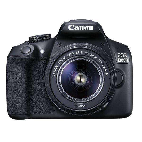 Canon EOS 1300D Kit (18-55 MK III) 8/10gg Lavorativi (da Ordinare)