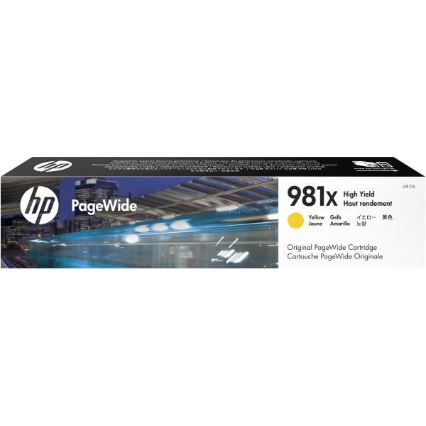 HP HP Cartuccia giallo originale ad alta capacità 981X PageWide