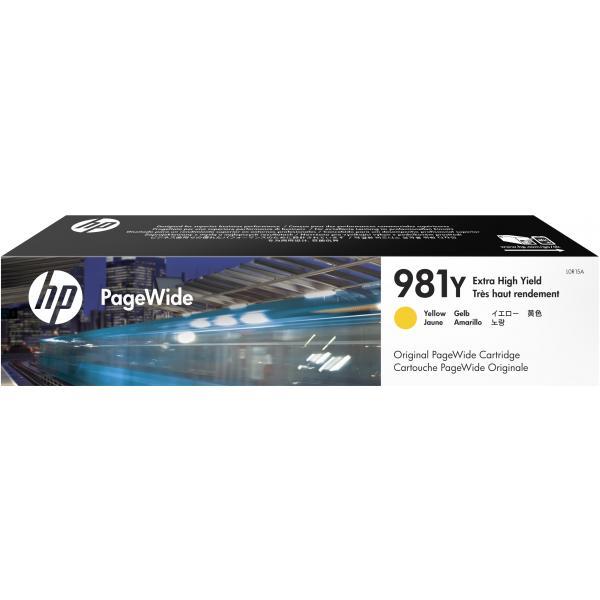 HP HP Cartuccia giallo originale ad altissima capacità PageWide 981Y
