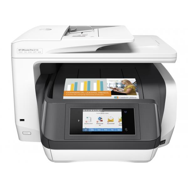 HP Officejet Pro 8730 All-in-One - D9L20A#A80