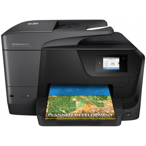 HP OfficeJet Pro 8710 AiO Thermal inkjet A4 Wi-Fi Black - D9L18A#A80