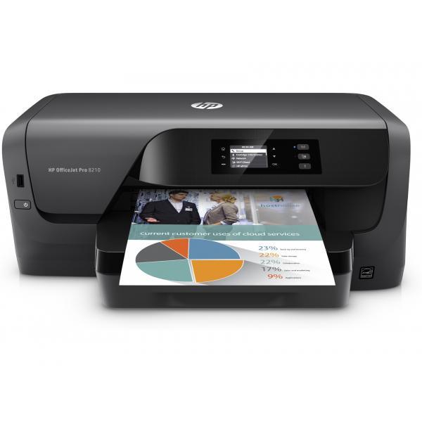 HP OfficeJet Pro 8210 Printer HP OfficeJet Pro 8210 Printer EUR/ME/AFR - D9L63A#A81