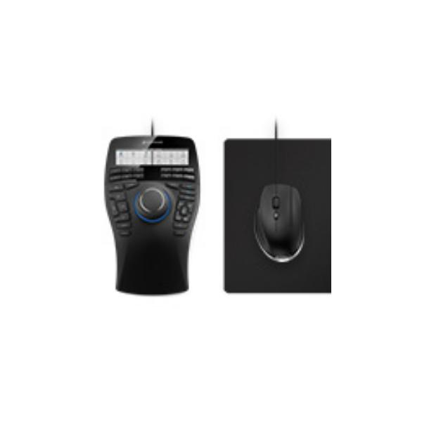 3Dconnexion SpaceMouse Enterprise Kit USB Laser 8200DPI Mano destra Nero mouse 4260016340873 3DX-700058 03_3DX-700058