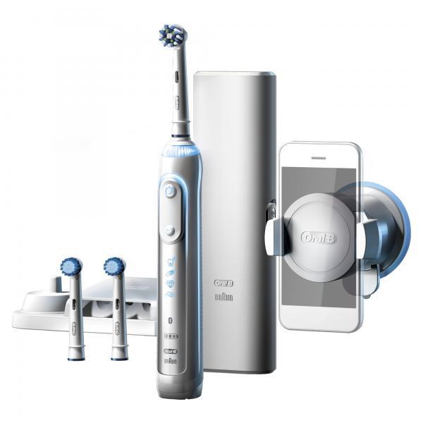 Oral-B Genius 8000S Adulto Spazzolino rotante-oscillante Bianco 4210201159704 159704 04_90660909