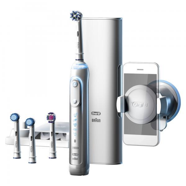 Oral-B Genius 9000S Adulto Spazzolino rotante-oscillante Bianco 4210201159728 159728 04_90660913