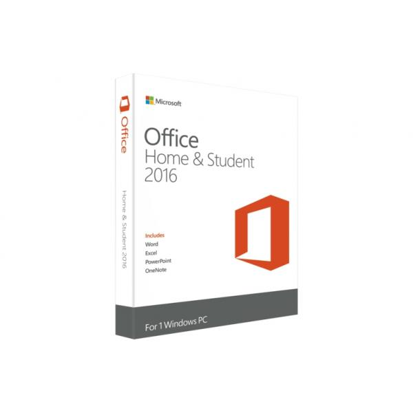 MICROSOFT Office Home and Student 2016 32-bit/x64 Italian Eurozone Medialess 79G-04677
