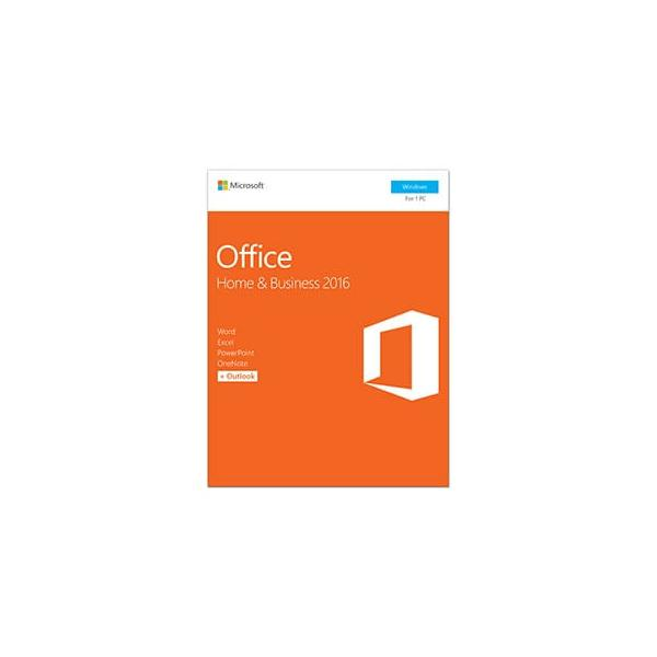 MICROSOFT Office Home and Business 2016 32-bit/X64 Italian Eurozone Medialess NUOVO PACKAGING - T5D-02801