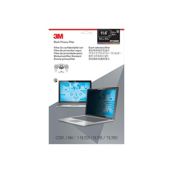 """3M Filtro Privacy per monitor widescreen edge-to-edge da 11,6"""""""
