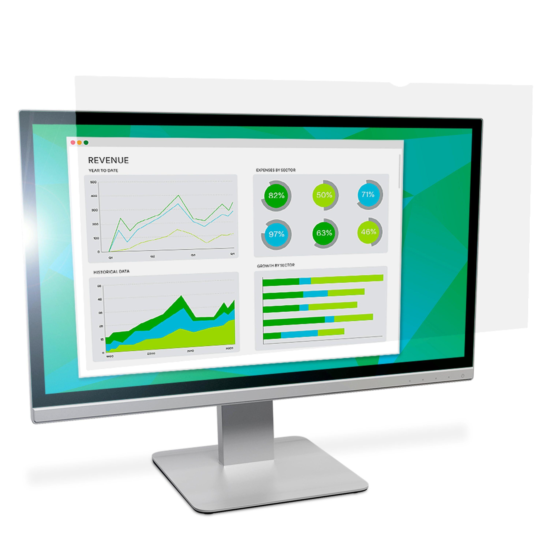 """3M Filtro antiriflesso per monitor widescreen da 27"""""""