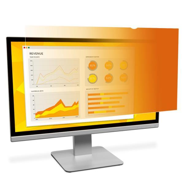 """3M Filtro Privacy oro per monitor widescreen da 24"""" (16:10)"""