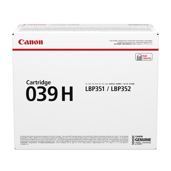 Canon 039H Originale Nero 1 pezzo(i)
