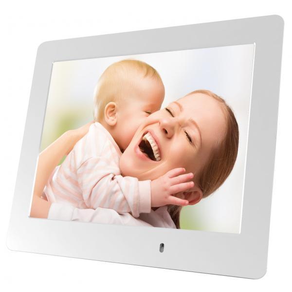 Mediacom M-PFS8W cornice per foto digitali Bianco 20,3 cm (8