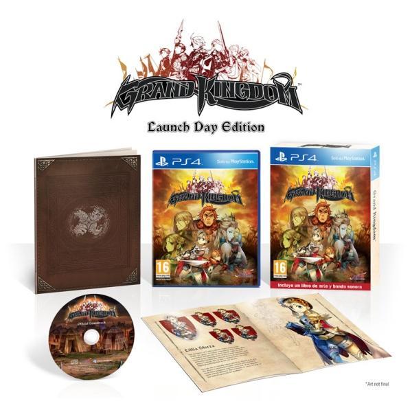 Koch Media PS4 GRAND KINGDOM D1 ED