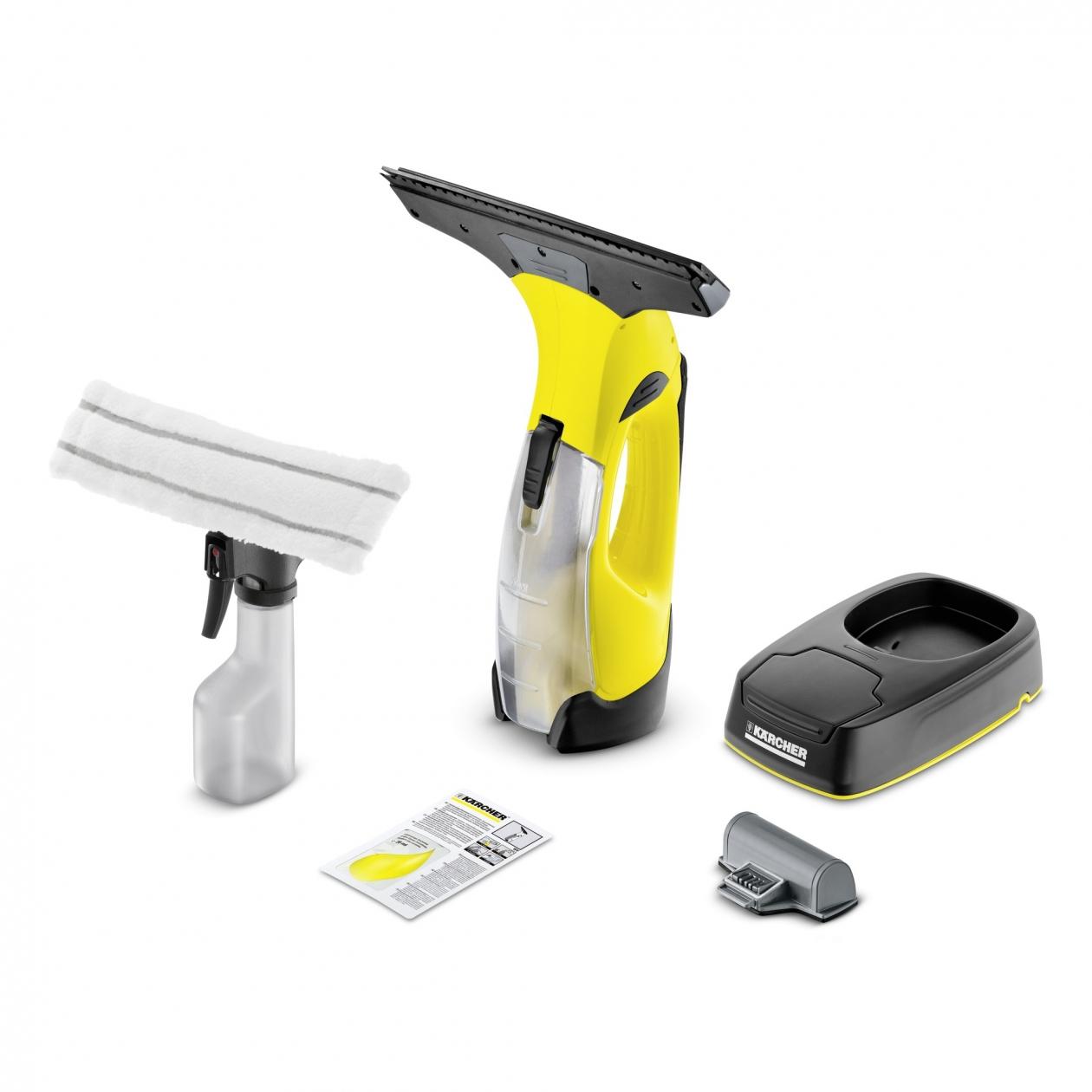 Kärcher WV 5 Plus Non-Stop Cleaning Kit 0.1L Nero, Giallo pulitore di finestra elettrico 4054278095646 1.633-443.0 04_90623117