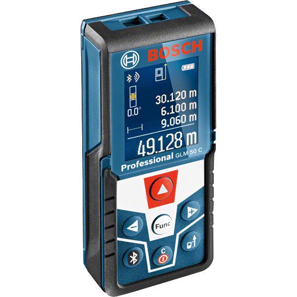 Bosch 0 601 072 C00 misuratore di distanza Distanziometro laser 50 m Nero, Blu